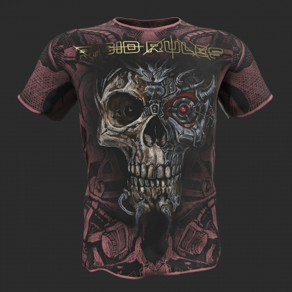 "T-shirt ""TERMINATOR"" Rigid Rules-pink # RigidRules.com - t-shirts, clothes, hoodies, leggins"
