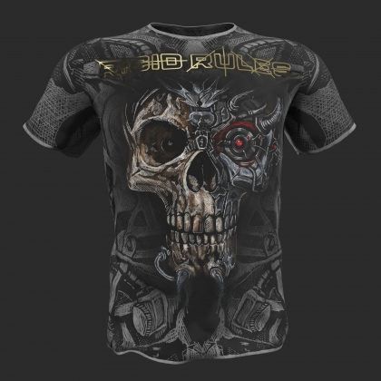 "T-shirt ""TERMINATOR"" Rigid Rules-grey # RigidRules.com - t-shirts, clothes, hoodies, leggins"